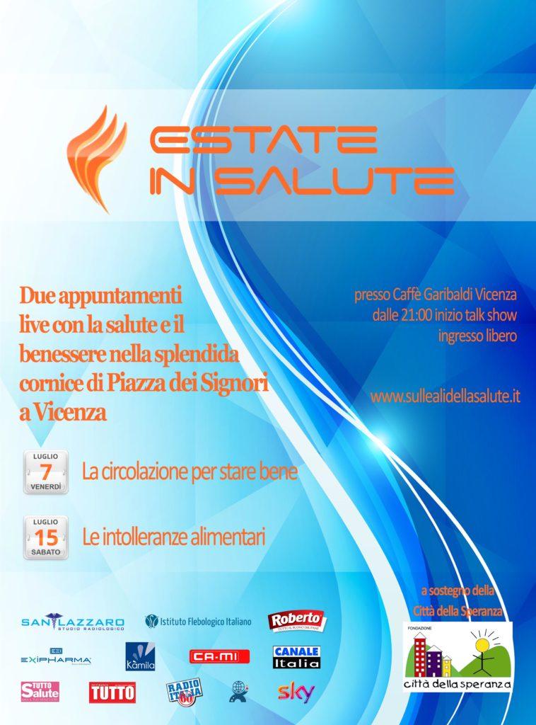 Due Appuntamenti Con Estate In Salute Da Piazza Dei Signori A Vicenza Produzione Di Prom Operazioni Marketing Prom Operazioni Marketing