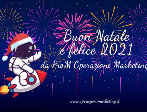 Auguri di Buon Natale e Felice Anno Nuovo di ProM Operazioni Marketing